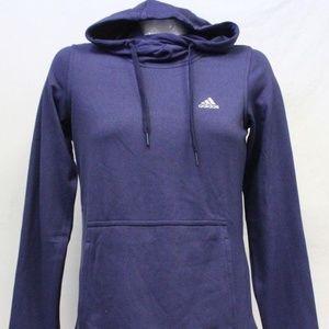 Adidas Climawarm Fleece Pull Over Hoodie Thumbhole